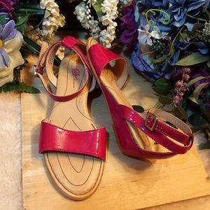 Born Crown Hot Pink Sandals